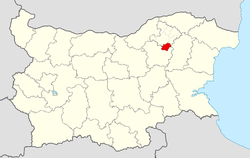 Loznitsa Municipality within Bulgaria and Razgrad Province.