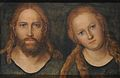 Lucas Cranach d.Ä. - Christus und Maria (Schloss Friedenstein. Gotha).jpg
