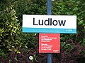 Ludlow railway station sign - DSCF2004.JPG