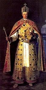 Francesco II nelle vesti di Sacro Romano Imperatore