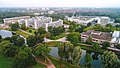 Luftaufnahme Leibniz-Straße Institute Universitätsbibliothek Mensa.jpg