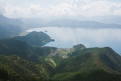 Lugu Lake view from cable car, August 2018 (2).jpg
