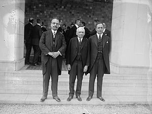 Dr. H. Price of Haiti (?), Frank B. Kellogg, a...
