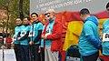 Luis Cueto da la salida al Minimaraton Madrid-Yiwu 02.jpg