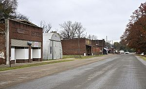 Lula, Mississippi - South Front Avenue in Lula