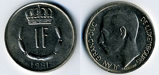 Luxembourg franc currency