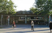 28e90073ea8 Lyngby Station hvorfra både S-tog og busser afgår.