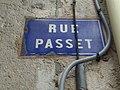 Lyon 7e - Rue Passet - Plaque (mai 2019).jpg