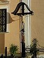 Mönichwald - Kruzifix an der Kirche hll Peter und Paul.jpg