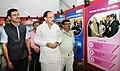 "M. Venkaiah Naidu visiting after inaugurating the ""Saath Hai Vishwaas Hai, Ho Raha Vikas Hai"" Exhibition of DAVP, at Sarojini Nagar, in New Delhi (1).jpg"