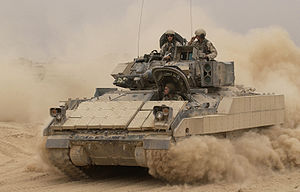 M2 Bradley - M2 Bradley during Operation Iraqi Freedom.