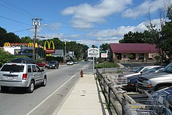MA Route 38 northbound entering Dracut, MA.jpg