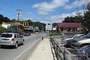 Massachusetts Route 38 - Northbound entering Dracut