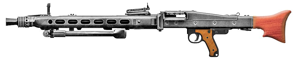 MG42 Sideview