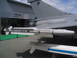 MICA (missile) Short/medium range air-to-air and surface-to-air missile