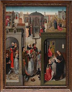 Maître de la légende de Sainte-Catherine - Scènes de la légende de Sainte Catherine.jpg