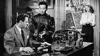 Macao (film) - Image: Macao (film) 1952. Josef von Sternberg, director. L R, Brad Dexter, Philip Ahn, Gloria Graham