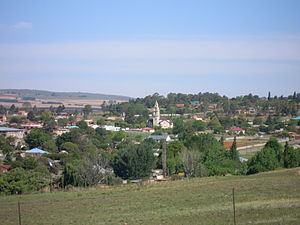 Machadodorp - View of the town