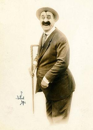 Mack Swain - In 1920, photo by Witzel.