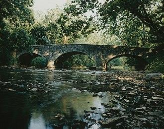 Lurgan Township, Franklin County, Pennsylvania - Western McClay Twin Bridge