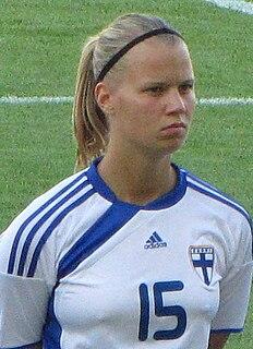 Maija Saari Finnish footballer