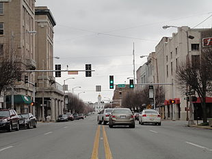 Downtown Pine Bluff