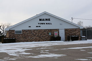 Maine, Outagamie County, Wisconsin Town in Wisconsin, United States
