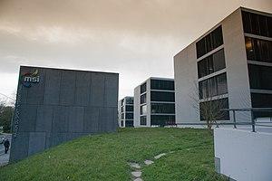 Fédération Internationale d'Escrime - Headquarters of the FIE at the Maison du Sport International in Lausanne