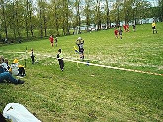 Sund IF - Svenska Cupen ladies match between Sund IF and Umeå IK on 27 May 2004 at Malands IP