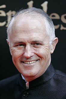Photographie de Malcolm Turnbull en 2012.