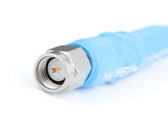 SMA connector - Image: Male 50 ohm SMA connector