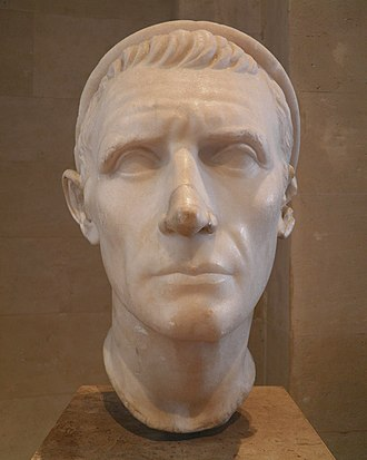 Antiochus III the Great - Bust from the Louvre, possibly Roman copy of Hellenistic portrait of Antiochus III