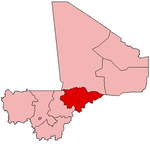 Location within Mali