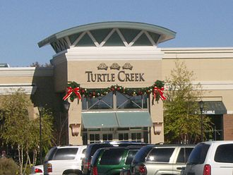 Jonesboro, Arkansas - Entrance into The Mall at Turtle Creek