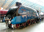 "Die ""Mallard"" im National Railway Museum in York"