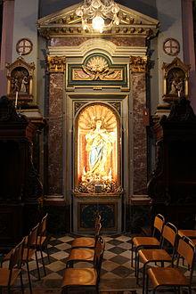 Malta - Valletta - Triq ir-Repubblika-Triq Melita - Church of St. Francis of Assisi in 02 ies.jpg