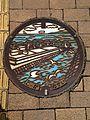 Manhole cover of Koga, Fukuoka 3.jpg