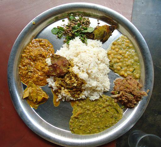 Manipur food includes Bamboo shoot veg, Lotus veg etc