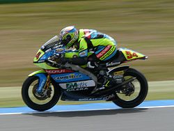 Poggiali a 2008-as Holland TT-n