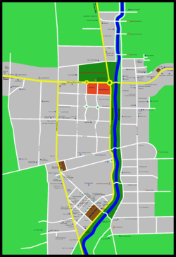 city map of Siem Reap