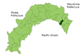 Map Yasuda, Kochi en.png