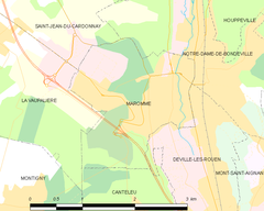 Map commune FR insee code 76410.png