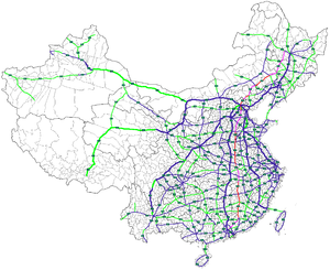 Map of China NTHS Expressway G45.png