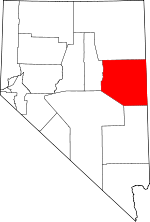 Map of Nevada highlighting White Pine County.svg