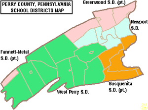 Map of Perry County Pennsylvania School Districts.png