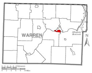 Warren South, Pennsylvania Census-designated place in Pennsylvania, United States