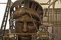Maquette de la tête en cuivre de la statue de la Liberté.jpg