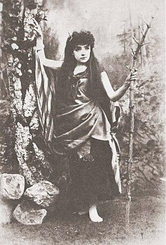 Jessie Bond - Bond as Mad Margaret in Ruddigore, 1887