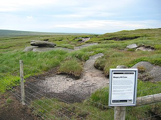Margery Hill - Margery Hill cairn