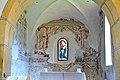 Maria Woerth Rosenkranzkirche Chorquadrat romanische Wandmalerei 25092014 447.jpg